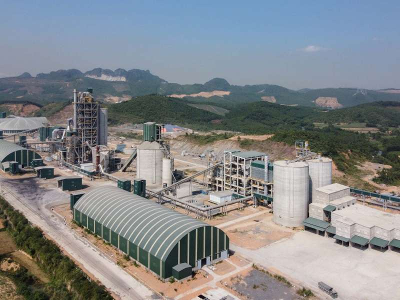 Tan Thang cement plant in Vietnam