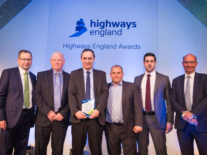 Aggregate Industries win Highways England Chairman's Award for Excellence in Safety