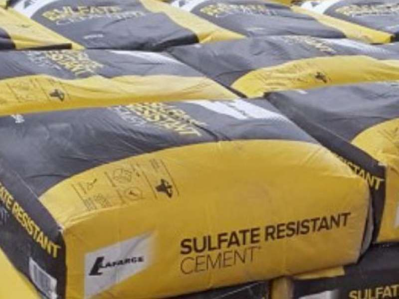 Lafarge packed cement