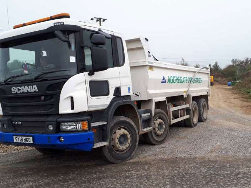 Aggregate Industries truck