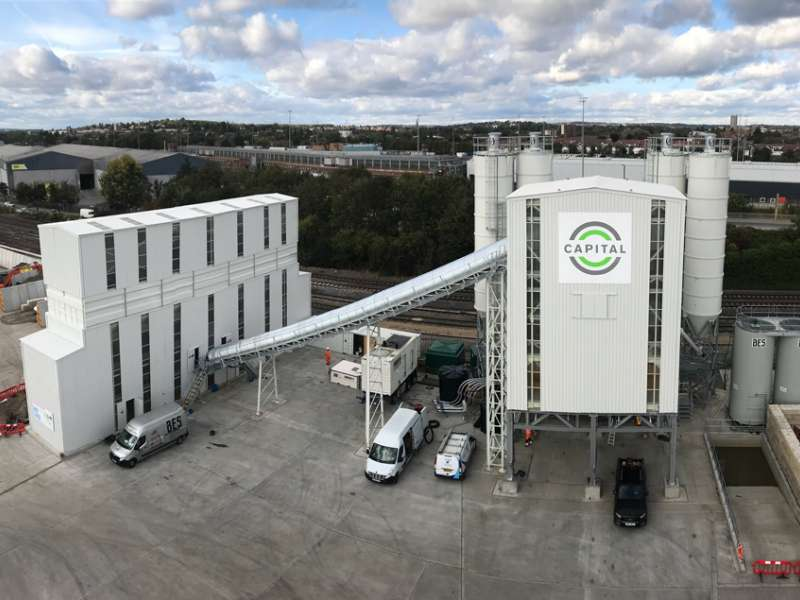 Capital Concrete's new MEKA MB300 batching plant