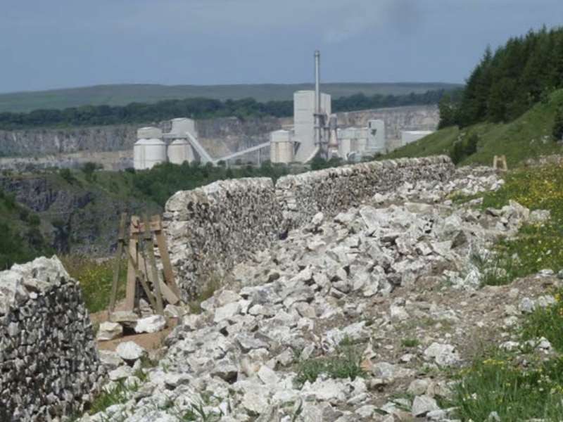 Tunstead Quarry and Cement Plant