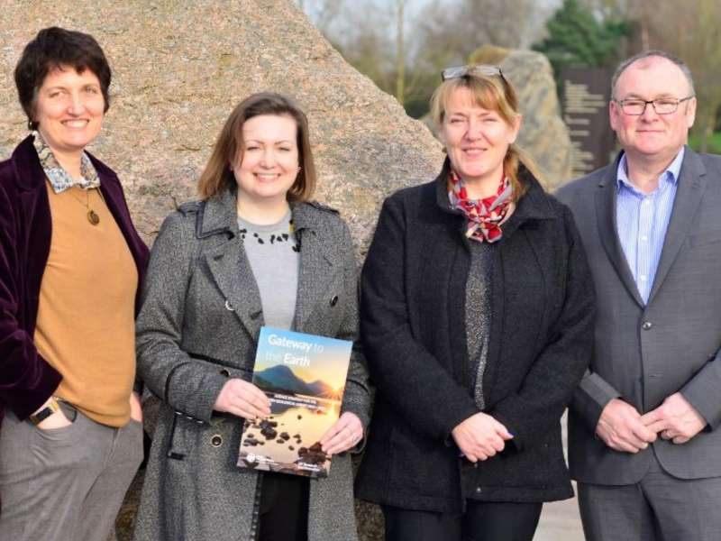 British Geological Survey welcomes visit from Rushcliffe MP