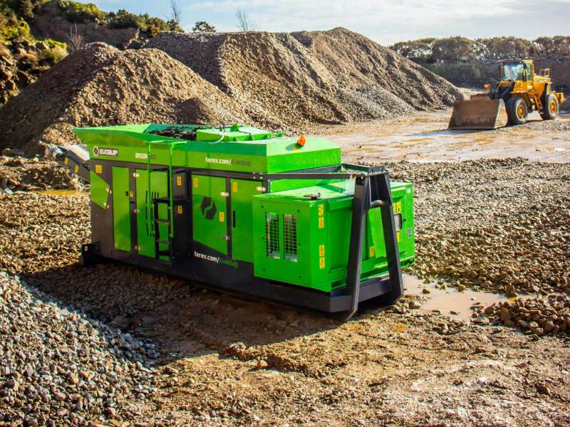 Bison 160 Hybrid jaw crusher