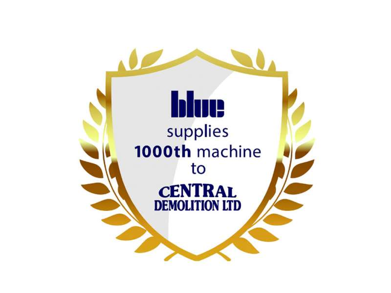 Blue supply 1000th machine