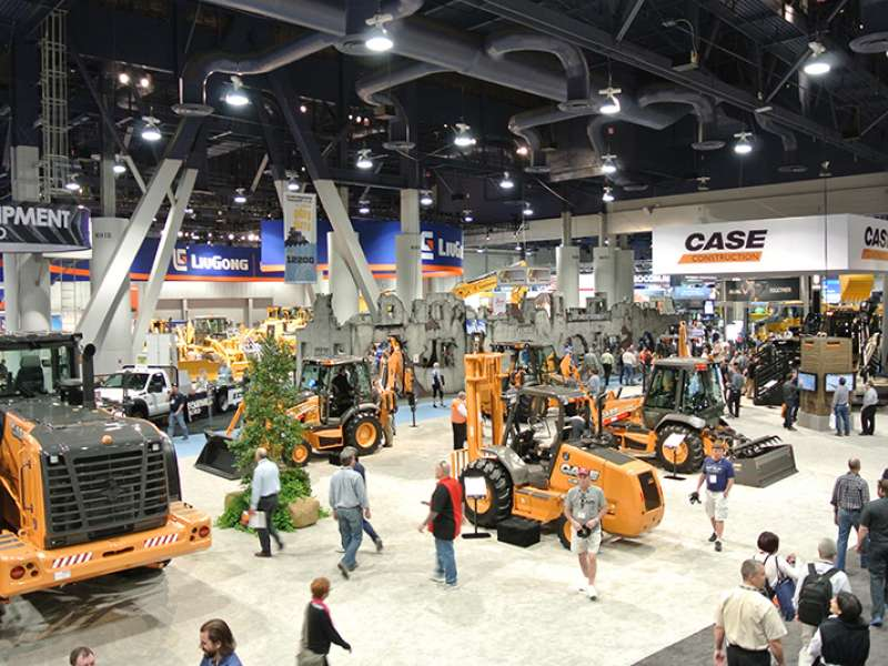 Case at ConExpo-Con/Agg 2014