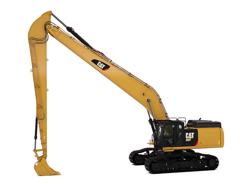 Cat 352F long-reach excavator