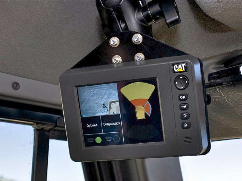 Caterpillar introduce new vehicle collision-avoidance system