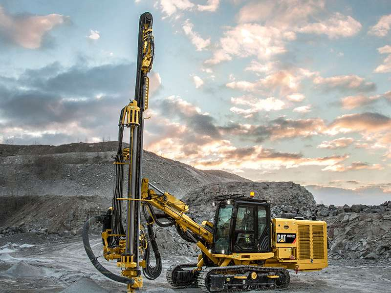 Cat MD5150C top-hammer drill rig