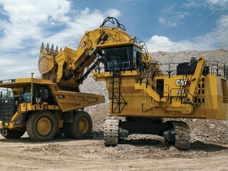 Cat 6030 hydraulic mining shovel