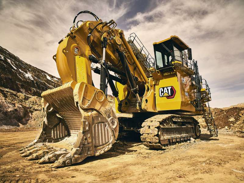 Cat 6060 hydraulic mining shovel