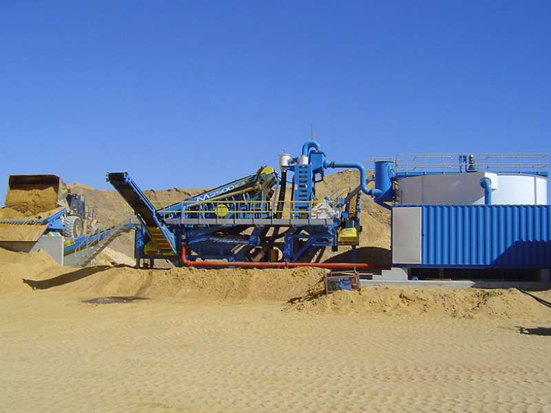 CDE sand and gravel plant