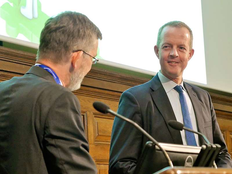 Nick Boles MP being questioned by Nick Higham