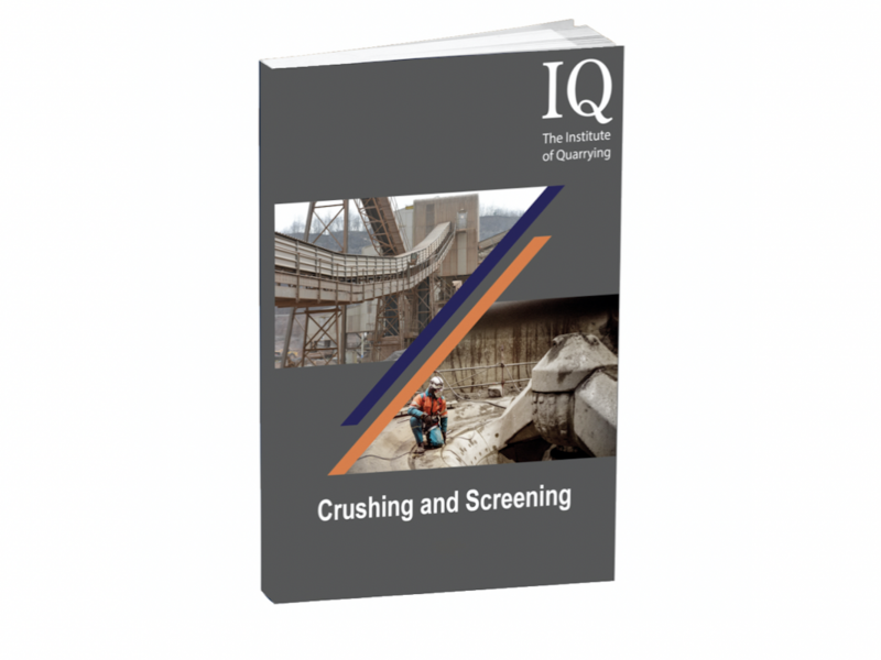 Crushing and Screening book
