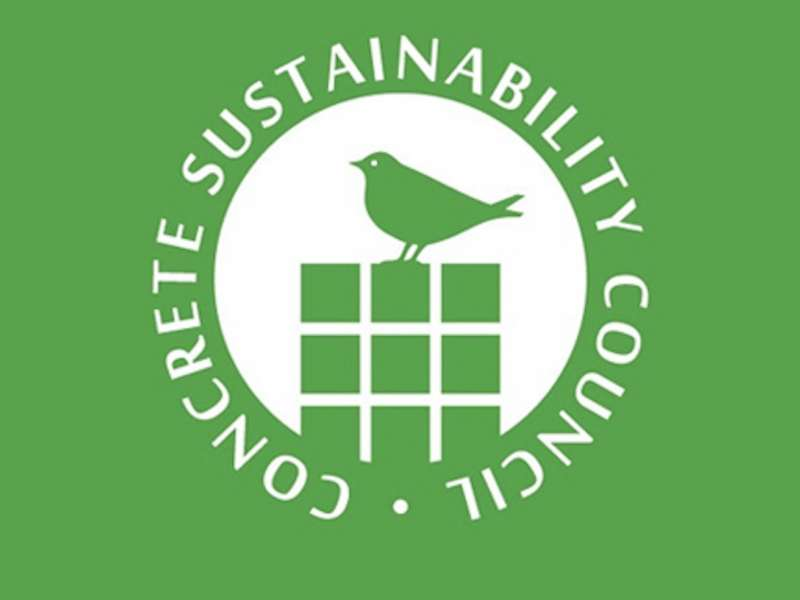 Concrete Sustainability Council logo