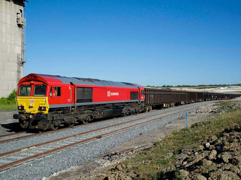 DB Schenker Rail UK run service to Barrington Quarry