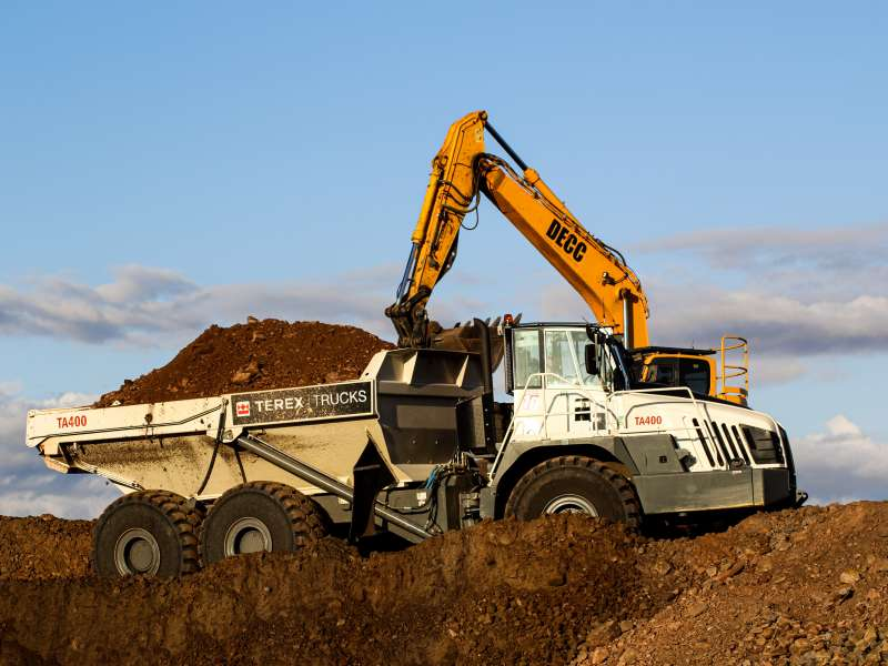 DECC invest in new Terex Trucks TA400 ADT