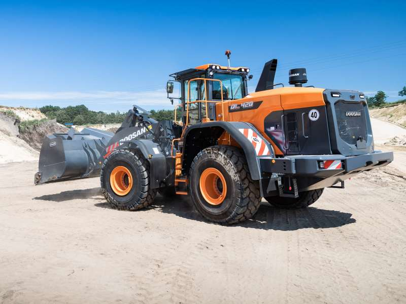 Doosan DL420-7 wheel loader