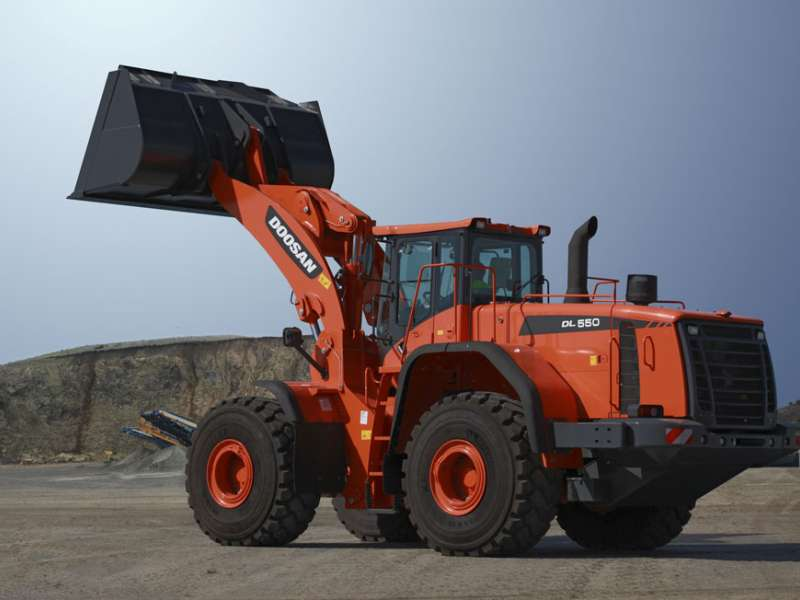 Doosan DL550 wheel loader