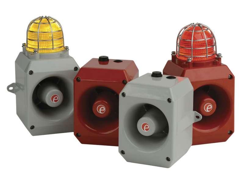 D range of alarm sounders and beacons