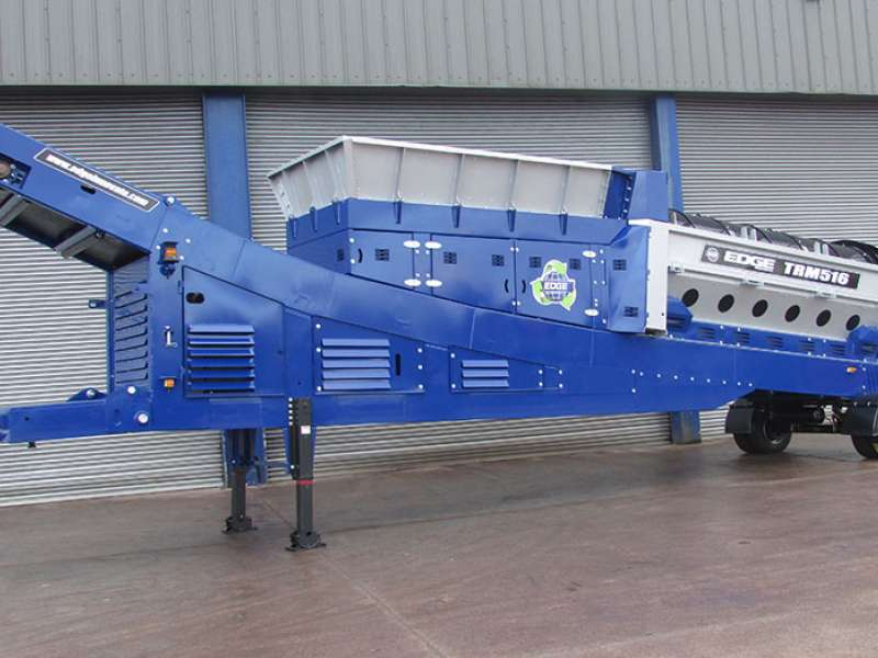 TRM516 trommel screen