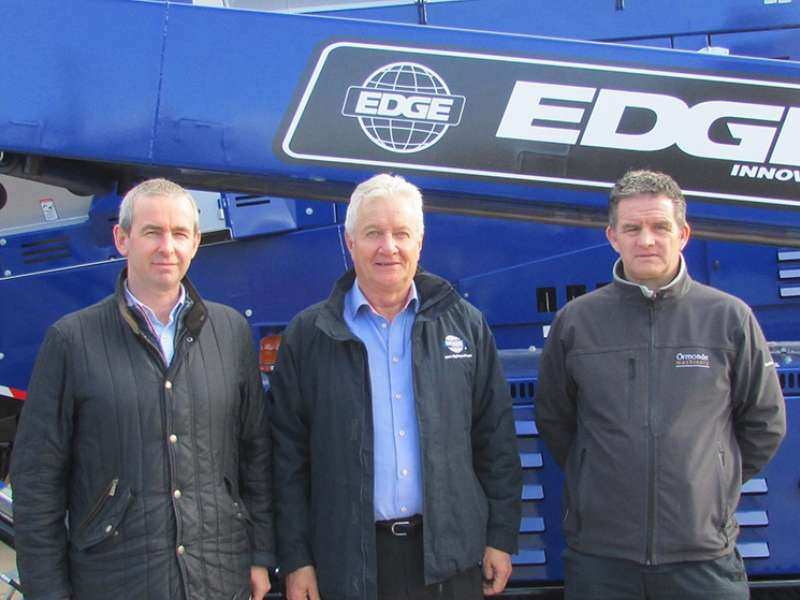 Ormonde Machinery appointed EDGE distributors