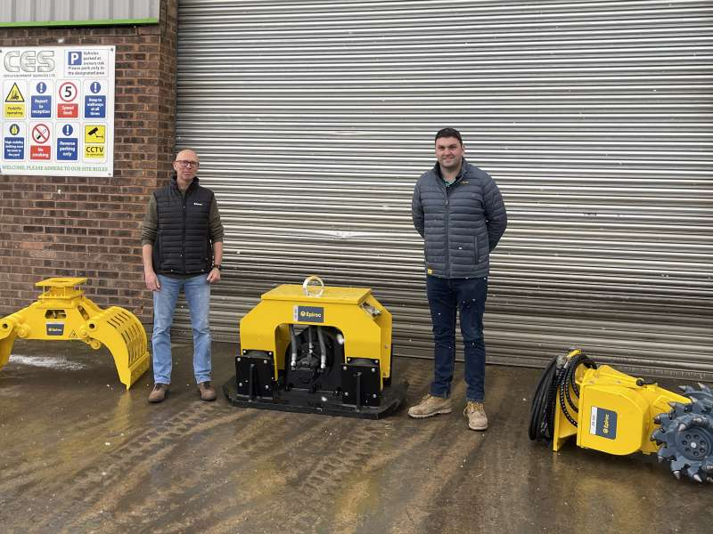 Coyle Equipment Services receive top dealer recognition from Epiroc