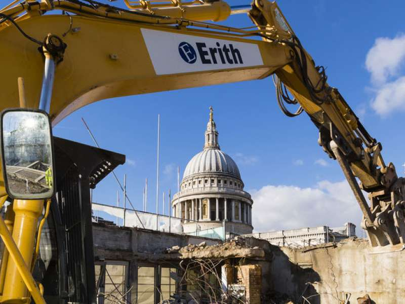 Erith win prestigious construction sector award