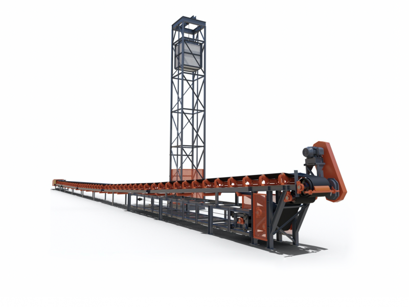 EXT Series of Zipline modular overland conveyors
