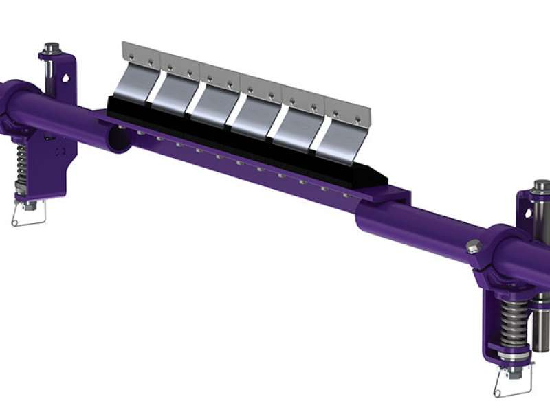 Flexco FMS conveyor belt cleaner