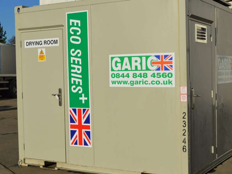 Garic drying room
