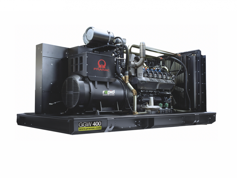 GGW400 gas-fuelled generator