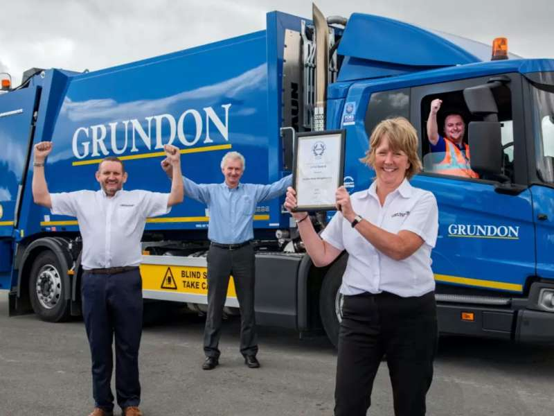 RoSPA Gold Award for Grundon