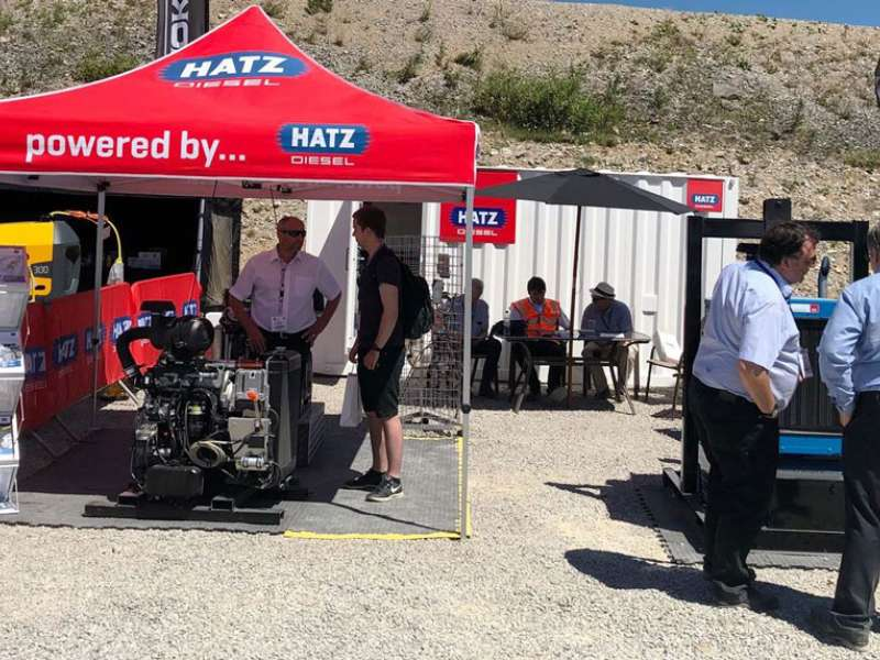 Hatz GB at Hillhead 2018