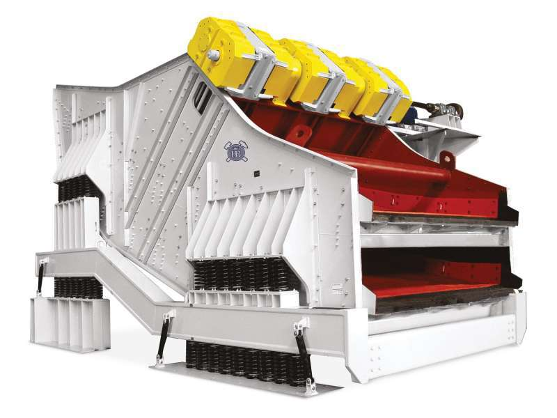 Haver & Boecker Niagara's XL-Class vibrating screen