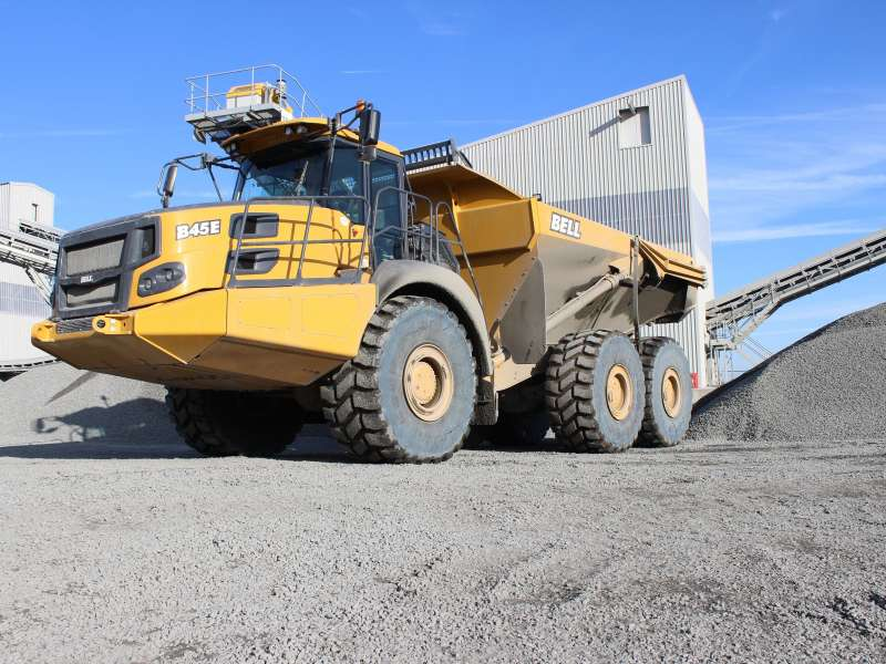 Bell B45E articulated dumptruck