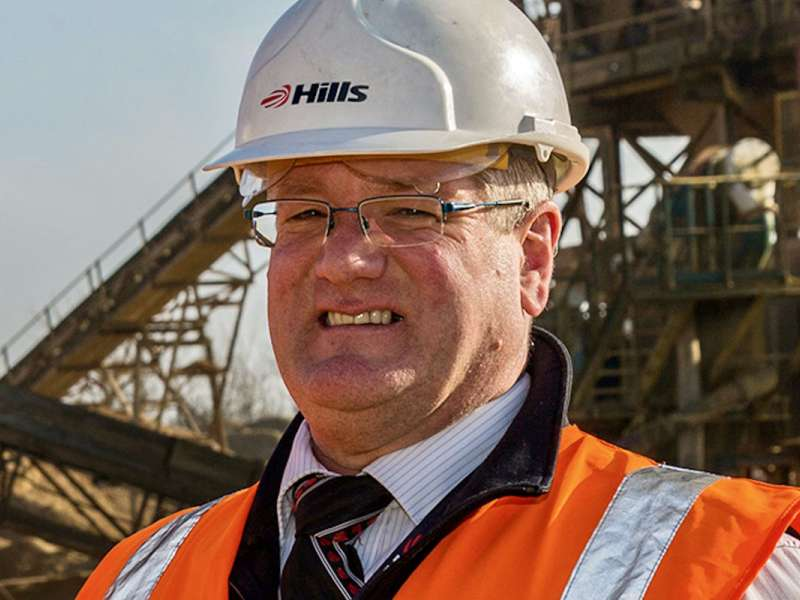 Peter Andrew, group director Hills Quarry Products