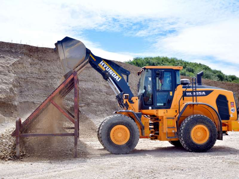 Hyundai HL955A wheel loader