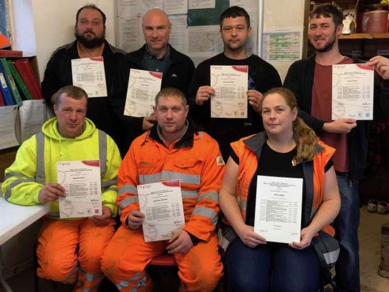 Level 3 SHE Certificates