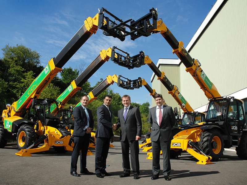JCB and A-Plant