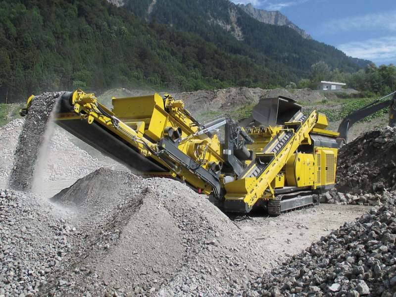 Keestrack R3 tracked impactor