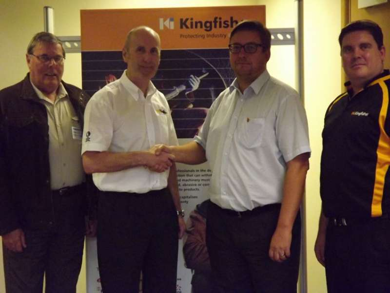 Kingfisher gain welding certification