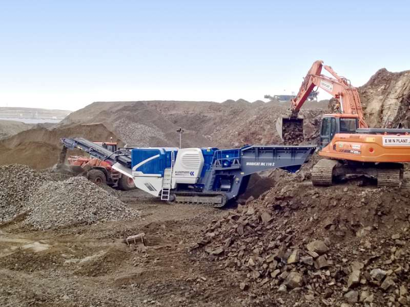 Kleemann MC 110 Z EVO jaw crusher