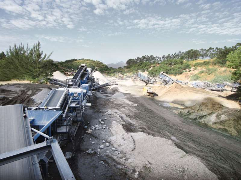 Kleemann mobile crusher