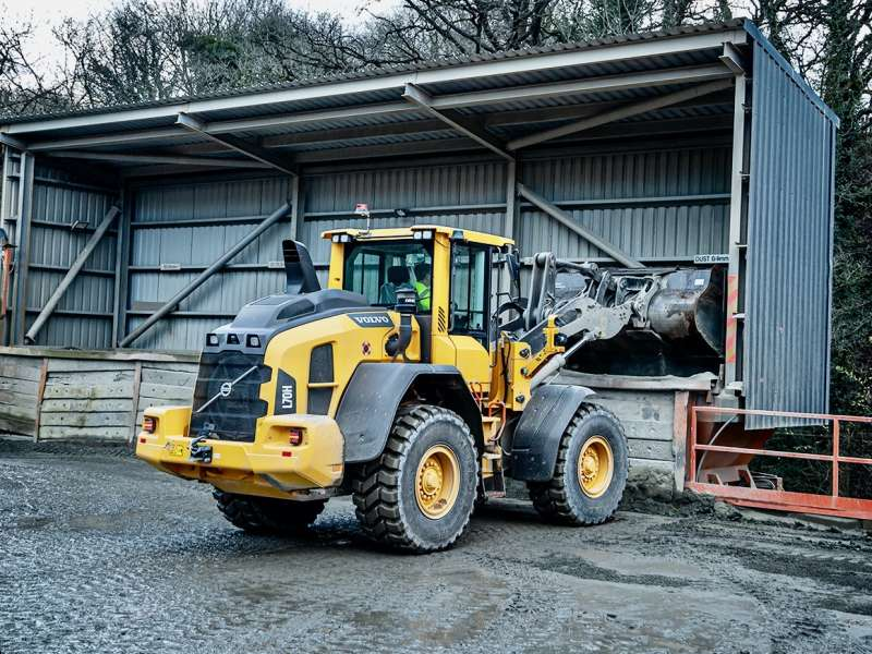 Volvo L70H wheel loader