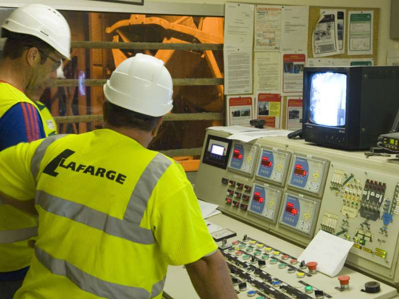 Lafarge results impacted by harsh weather
