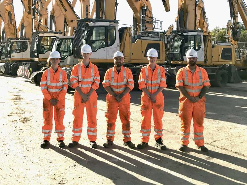 Liebherr GB apprentices