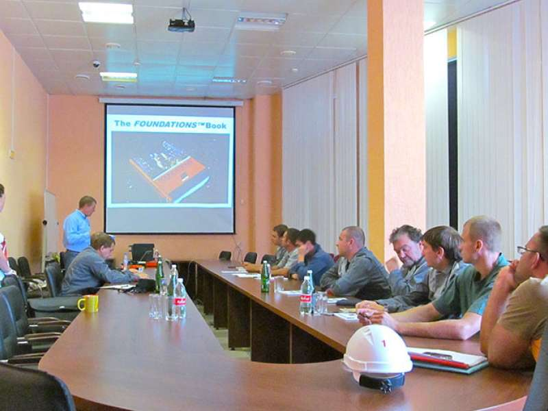 Martin Engineering training in Russia