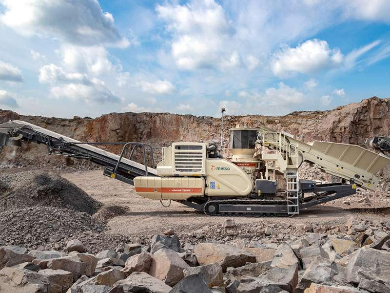 Renewed Metso LT200HP cone crusher