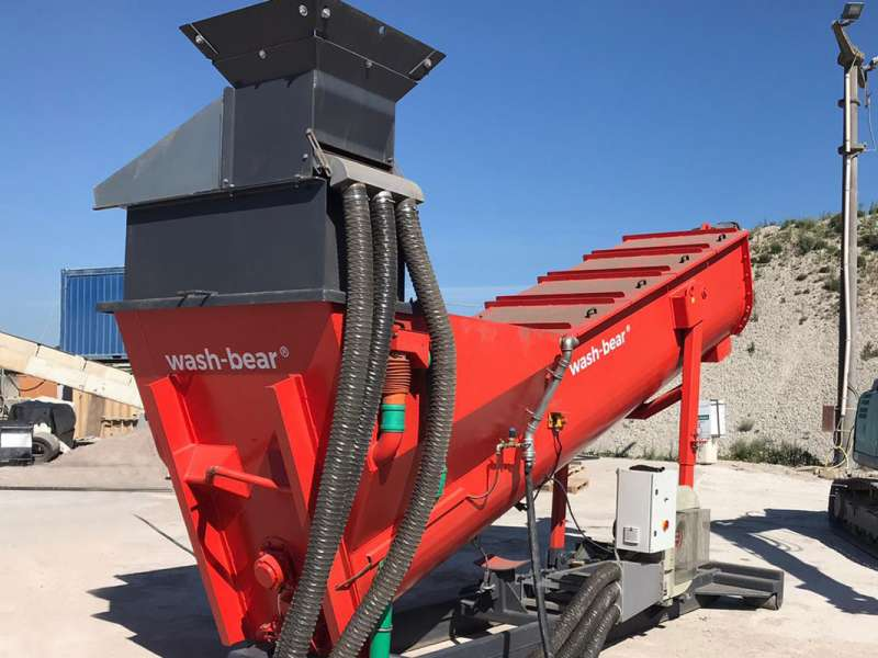 Moerschen mobile wash-bear equipment
